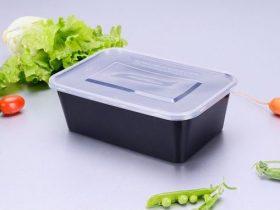 Crne plastične posude za uporabu u mikrovalnoj