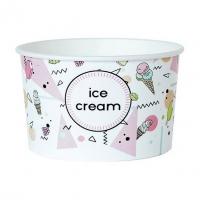 Ice cream cup 245ml pastel