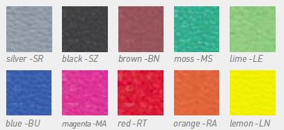 Kangabox - dostupne boje