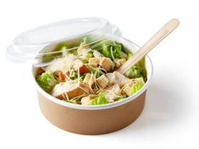 Papirnate posude za salatu