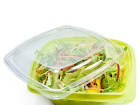 Zelene posude za salatu